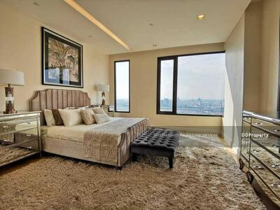 For Sale - Code KRE W3376 Equinox type 4 bedrooms, 5 bathrooms, 290. 92 sq. m. , 41th floor, 45 million baht for sale @LINE: 0962215326 Khun New