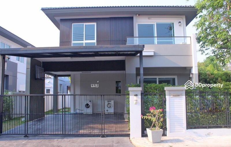 บ้านในโครงการให้เช่า เดือนละ 25,000 บาท เดินทาง 10 นาทีเข้าเมือง No.6H079 #83472749