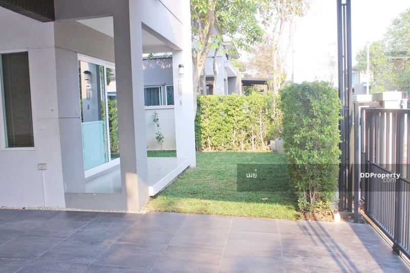 บ้านในโครงการให้เช่า เดือนละ 25,000 บาท เดินทาง 10 นาทีเข้าเมือง No.6H079 #83472751