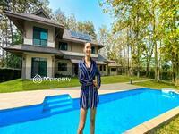 ขาย - Eco-Friendly Luxury Home for Sale in Exclusive Green Valley. Lakefront Property