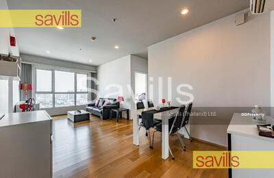 For Sale - Hive Sathorn for Sale 2 Bedrooms , River View , High Floor , Fully Furnished , Ready to Move In , Closed BTS Krung Thon Buri (Ref id. 33821)