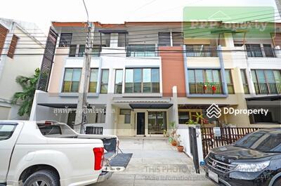 ขาย - ขาย ทาวน์โฮม 3 ชั้น โครงการ เดอะ ไพรเวท สุขุมวิท – บางจาก ใกล้ BTS บ้านสวย พร้อมอยู่ โทร. 061-565-5192
