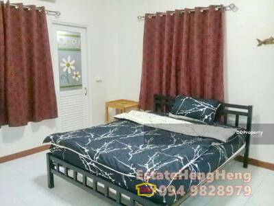 For Rent - For Rent Single detached HUAHIN 50 sq. w. 2b2br, only 9500/month. Large, Shop7/11
