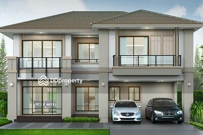 ขาย - ขายบ้าน 2ชั้น บางตะไนย์ ปากเกร็ด นนทบุรี 3ห้องนอน 4ห้องน้ำ 222 ตรม. 8. 69 ล้าน