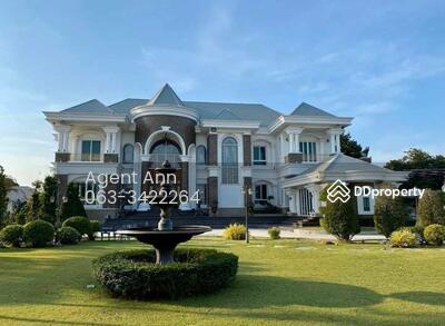 ให้เช่า - For Sale Luxury Single House ขาย บ้านเดี่ยวสุดหรู พร้อมสระว่ายน้ำส่วนตัวใน รังสิต (PST Ann185)