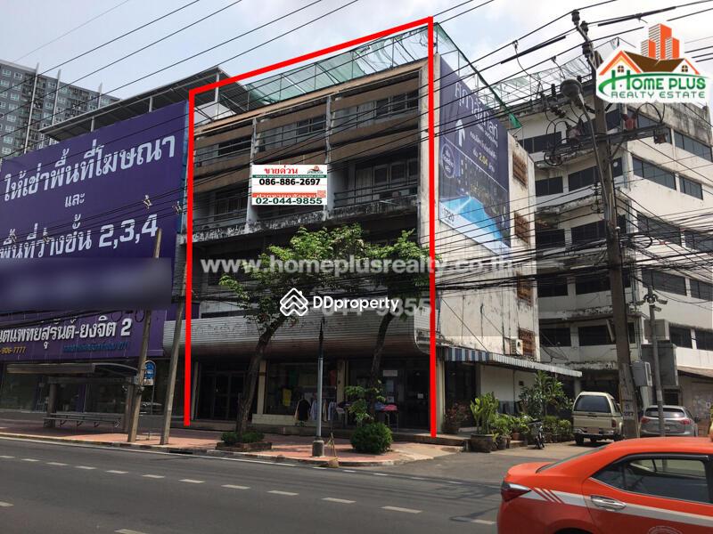 อาคารพาณิชย์ 3 คูหา 4 ชั้น (ติดBTS บางหว้า) #84175335