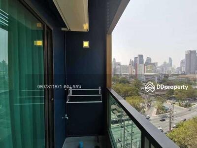 For Rent - Code KRE A1891 Lumpini Suite Phetchaburi - Makkasan, 2 bedrooms, 1 bathroom, area 45 sq m, floor 12A, rent 16, 000 baht @LINE: 0807811871 Khun On