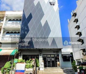 ขาย - ขายตึกห้องมุม อ่อนนุชซอย10 สุขุมวิท77 Hostel Wire Bangkok on-nut hotel & cafe  BTSพระโขนง ตึก 2 คูหา 5 ชั้น ขนาด 37. 5 ตร. ว. ขายพร้อมเฟอร์นิเจอร์ พร้อมดำเนินกิจการ