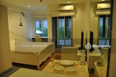 For Rent - Condo for rent, Studio The Seed Memories Siam, size 28 sqm, 1st floor, BTS National Stadium