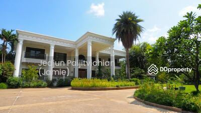For Sale - Luxury house for sale in Nonthaburi Bangyai Pruekpirom Regent Pinklao 953 sq. w.  77 MB
