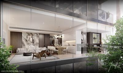 For Sale - Condo for Sale 1 bedroom corner unit, 52. 5 sqm at Tait Sathorn 12