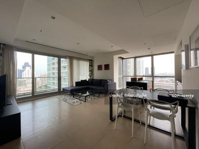 For Rent - The River condo for rent Fl 19, 2 bed, Balcony face Shangri la hotel