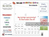 ขาย - Land for sale