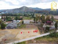 ขาย - ขายที่ดิน 138 , 129 (หน้าติดถนนคอนกรีต หลังวิวดอย ไฟฟ้า, น้ำประปา, ถมที่ดินมีพร้อม)