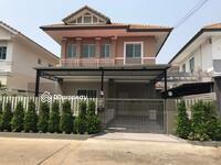 ขาย - ขาย บ้านแฝด 2 ชั้น บุรีรมย์ ต้นโครงการ แต่งสวย เลียบคลองสอง คลองสามวา