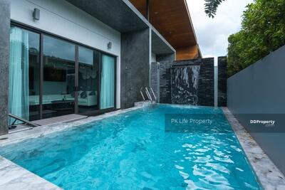 For Rent - 8R0292  This pool villa 2 bedroom 2 bathroom 29, 000/month the house location at Chalong