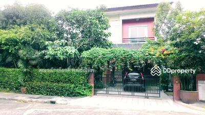 For Sale - บ้านเดี่ยว2ชั้น มบ. รสาพาร์คเลน (หลังหัวมุม)วัชรพล เทพรัตน์ รามอินทรา