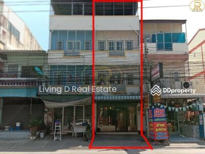 ขาย - ขายอาคารพาณิชย์3ชั้น มีที่จอดรถด้านหลัง  ติดถนนบ้านสวน9 บ้านสวน ชลบุรี
