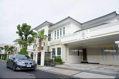 For Sale - ขาย บ้านเดี่ยว แกรนด์ บางกอก บูเลอวาร์ด สาทร ปิ่นเกล้า ราชพฤกษ์ 102. 8 ตร. วา 462 ตร. ม.  บางระมาด ตลิ่งชัน กรุงเทพฯ ราคาถูก