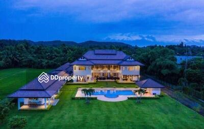 ให้เช่า - Modern Lanna Luxury Estate for Rent Sale in near Prem School, Mae Rim