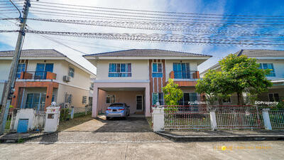 For Rent - AE1634 The two storeys detached house near the city for rent with 70 square wah. 4 Bedrooms and 4 Bathrooms.