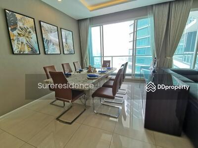 ขาย - 3286-A RENT&SELL ให้เช่าและขาย 3 ห้องนอน Menam Residences O88-7984117