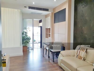 For Rent - The Room Sukhumvit 62, Rent 1 bed 45 sqm on 23 fl-A Price 15, 500 baht furnished