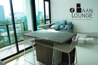 For Sale - Duplex zelle condo for sale, zelle Rattanathibet size 50 sqm, 1 bedroom, 2 bathrooms, 7th and 8th floor, private corner, balcony facing southeast, no building block