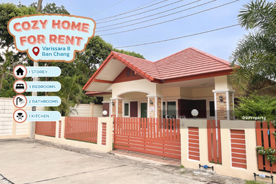For Rent - House for Rent Varisara 8 Ban Chang / 3 Bedrooms/ 2 Bathrooms