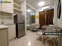 """For Rent - Scandinavian Style """"Chapter One Eco Ratchada-Huaikwang"""" 30 sqm. Large Common Areas"""