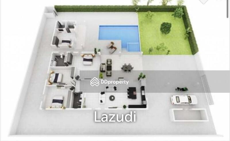 Lazudi AV 88 GOLD 2 : Good Value 4 Bed Pool Villa.