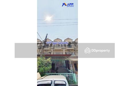 For Sale - 3-storey townhome for sale, Lally Ville Village 2, Soi Mangkorn Praksa