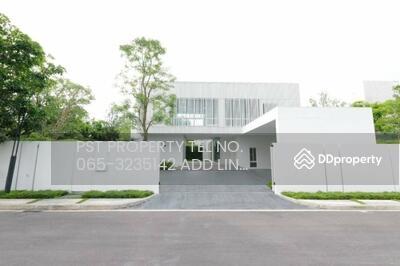 ขาย - ขายบ้านเดี่ยว VIVE บางนา กม. 7  สไตล์โมเดิร์น มินิมอล บ้านหลังมุม พื้นที่เยอะ ( PST-EVE252 )