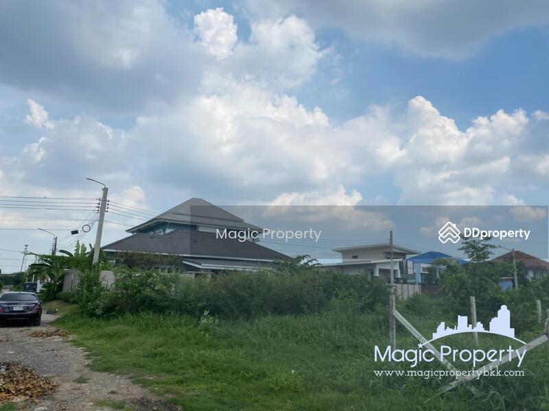 100 sq.wah. Corner Plot Land for Sale in Ban Mai, Ban Mai Pak Kret, Nonthaburi. #86207905