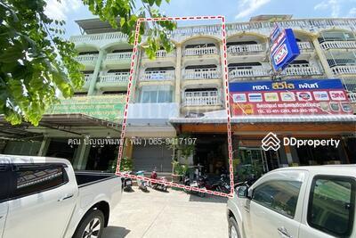 For Sale - อาคารพาณิชย์ 19. 9 ตร. วา หมู่บ้านสุนทร 7 เอกชัย บางบอน 2 คูหาติด