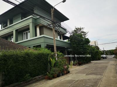 For Sale - 3 storey detached house for sale, modern classic style, Soi Nawamin 68, corner unit, near the community, price 15. 5 million