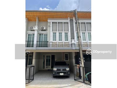 ให้เช่า - 5A2MG0546 ให้เช่า ทาวน์โฮมสองชั้น 4 ห้องนอน 3 ห้องน้ำ พื้นที่ 19 ตารางวา ให้เช่า 15, 000 บาท/เดือน พร้อมเฟอร์นิเจอร์