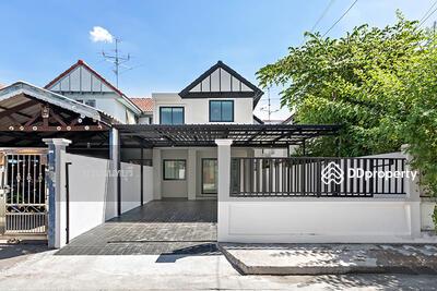 For Sale - บ้านมือสองตกแต่งใหม่ หมู่บ้านลานทอง ติวานนท์-ปากเกร็ด  สวย พร้อมอยู่
