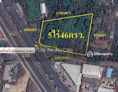 ขาย - ขายที่ดิน ติดถนนราชพฤกษ์ ขนาด 5 ไร่ 46 ตารางวา ใกล้ BTS บางหว้า