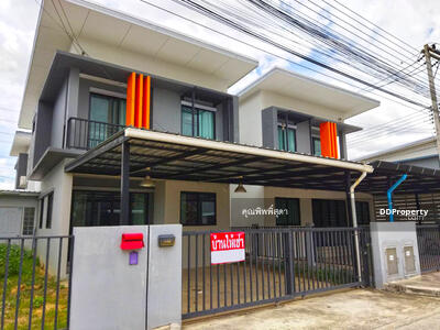 For Rent - AO1245 - Townhouse for rent with 2 bedrooms, 2 toilets. - Only 10-15 minutes into the town. - The land size is 35 sq. w.