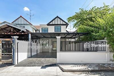 For Sale - บ้านมือสองตกแต่งใหม่ #หมู่บ้านลานทอง บ้านแฝด 2 ชั้น บนทำเลศักยภาพ