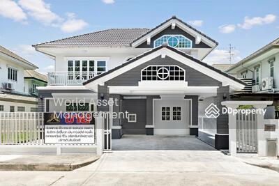 For Sale - บ้านเดี่ยว 2 ชั้น #หมู่บ้านคุณาลัย รัตนาธิเบศร์ พร้อมอยู่ ทำเลดี ติดถนนใหญ่  ตกแต่งใหม่ทั้งหลังด้วยวัสดุคุณภาพ