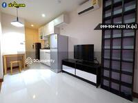 "For Rent - Condo For Rent   Near BTS Ekkamai and Chalerm Maha Nakhon Expressway ""Tree Condo Sukhumvit 40"" 40 sqm. Very Big Balcony With Bathtub"