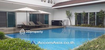 ให้เช่า - Homely atmosphere house 4 Bedroom for rent in Pattanakarn Bangkok OnNut BTS AA30025