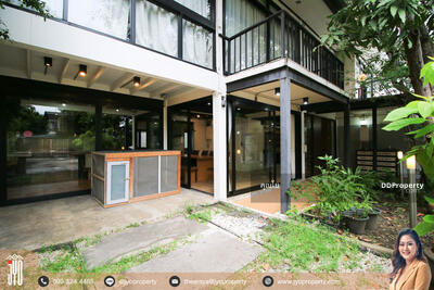For Rent - JY-R00097-For rent Single house 2 storey Sukhumvit soi 85 104 sq. wa. 450sq. m. 3bedrooms 3bathrooms 4 parking near BTS Onnut