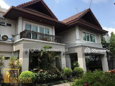 ให้เช่า - 4 Bed Single House in Compound For Rent in Thong Lo BR27543SH