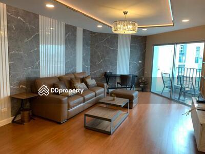 For Rent - Wonderful High Rise 4-BR Condo at Belle Grand Rama 9 near MRT Phra Ram 9   6 Mo. Avl. (ID 45654)