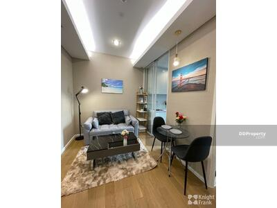 For Rent - Condo for rent at The Saint Residences. 1 bedroom and 1 bathroom with living area 31 sq. m. Fully furnished with nice decoration. #THRSPSNP0545