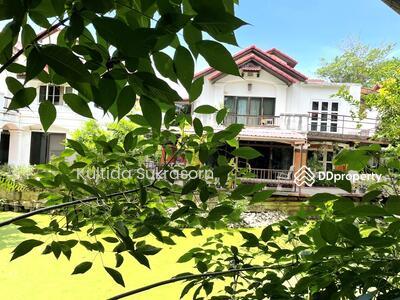 For Sale - บ้านสวยริมคลอง นนทบุรี 5นอน  ใกล้ รพ พระนั่งเหล้า MRT แยกนนทบุรี1 ขายขาดทุน