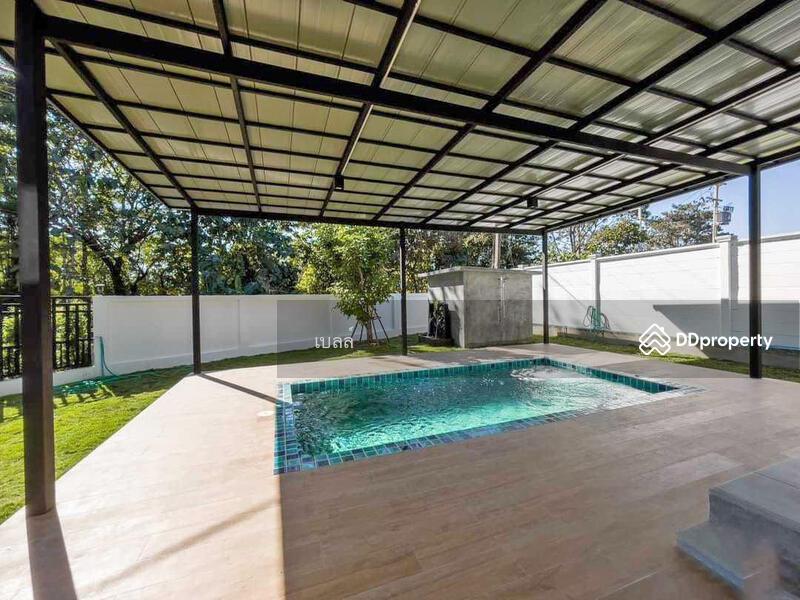บ้านโมเดิร์นพร้อมสระว่ายน้ำส่วนตัวให้เช่า เดือนละ 35,000 บาท ใกล้รร.นานาชาติเปรมเพียง 5 นาที No.10H041 #87376675